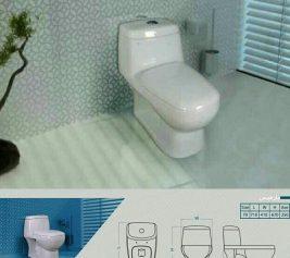 توالت فرنگی پارمیس گلسار